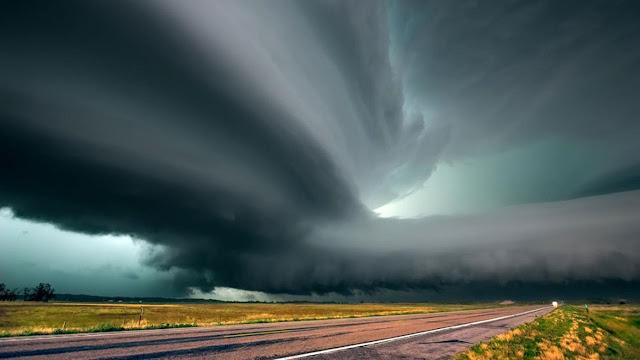 Nebraska. Supercells, Storm