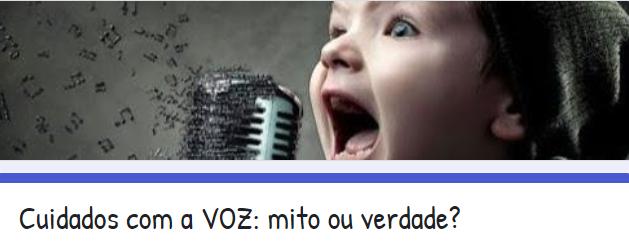 Você sabe tudo sobre Voz? e Teoria Musical? Clique aqui e teste seus conhecimentos