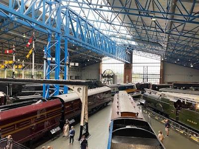 National Railway Museum York turntable