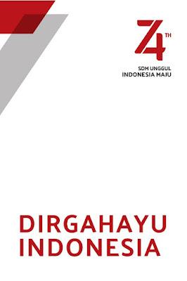 desain poster hut ri