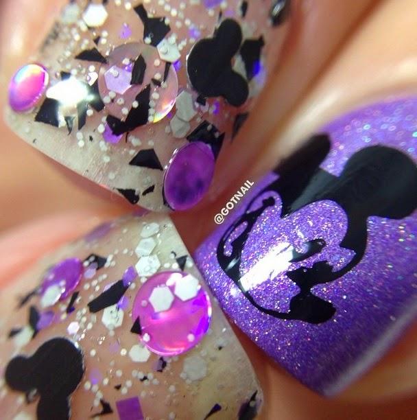 Mickey Mouse Nail Polish by Glitter Lambs