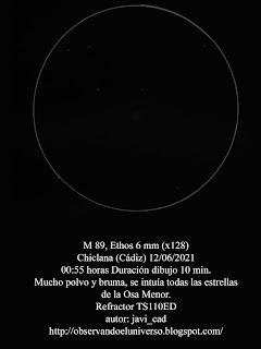 Galaxia M 89