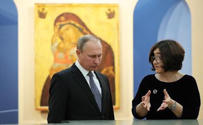 Vladimir Putin, Zelfira Tregulova.
