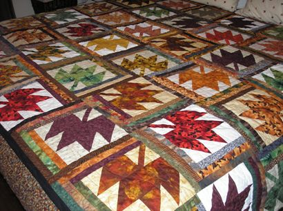 Paris In Fall Quilt Pattern My Quilt Pattern