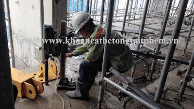 Khoan cắt bê tông tại huyện Tân Châu