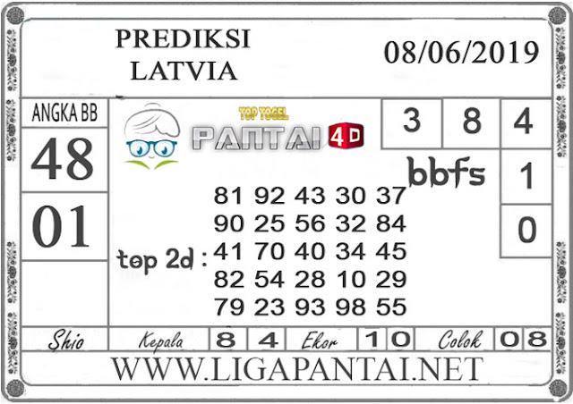 """Prediksi Togel """"LATVIA"""" PANTAI4D 08 JUNI 2019"""