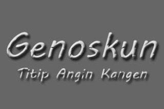Lirik Lagu Genoskun - Titip Angin Kangen
