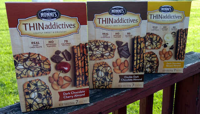 Nonni's dark chocolate almond THINaddictives #snacks