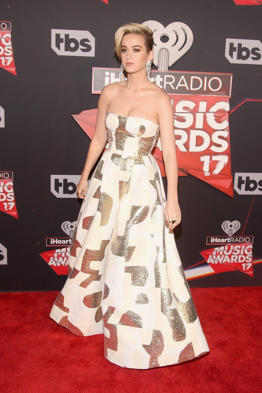 Katy Perry – 2017 iHeartRadio Music Awards in Los Angeles