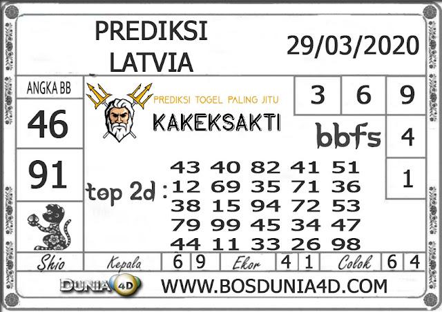 Prediksi Togel LATVIA DUNIA4D 29 MARET 2020