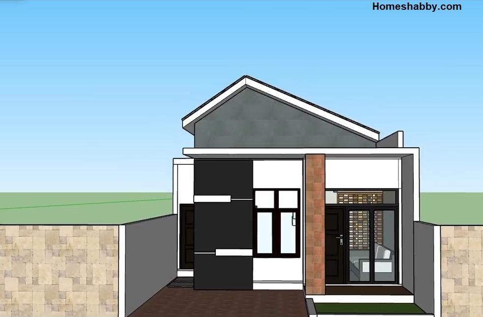 Desain Dan Denah Rumah Minimalis Type 36 Tampil Lebih Luas Terdapat Rooftop Mungil Homeshabby Com Design Home Plans Home Decorating And Interior Design