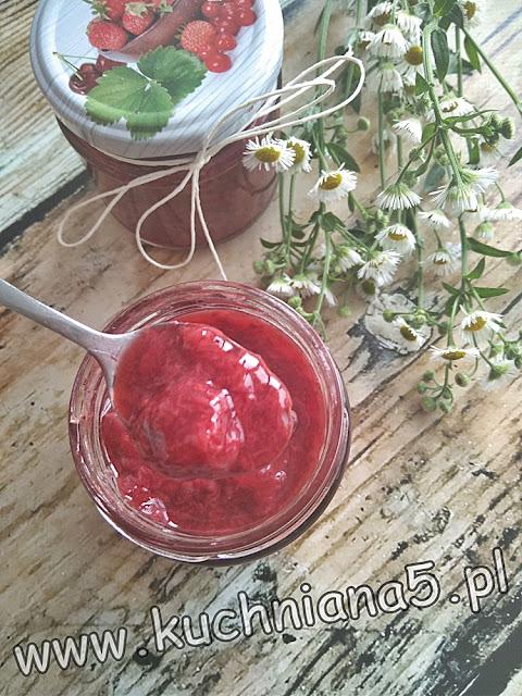 frużelina z truskawek