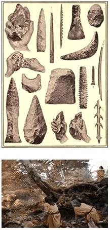 Sayans Teknoloji En Sosayati Stone Age Inventions