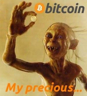 Witzige Bilder und Texte über Bitcoin