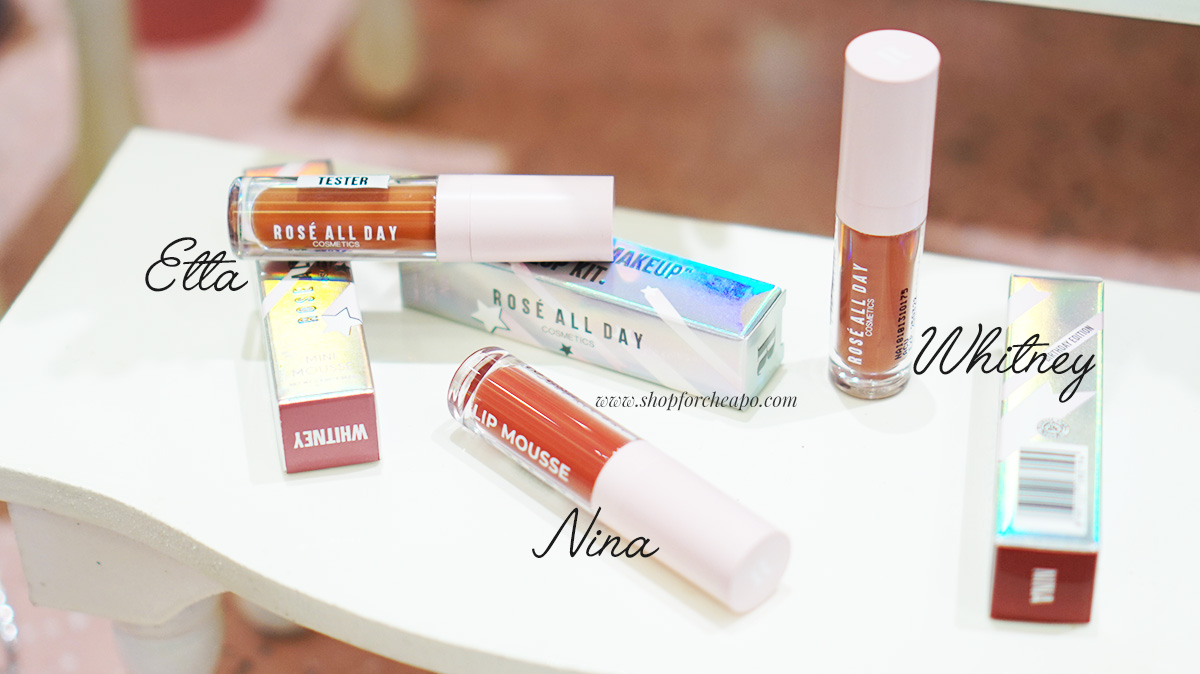 Review Tes Ketahanan Rosé All Day Lip Mousse Dan Swatch Lengkap