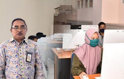 Kepala Biro Akademik Kemahasiswaan dan Perencanaan (BAKP) Universitas Mataram Drs. Ruspan, M.Ak.