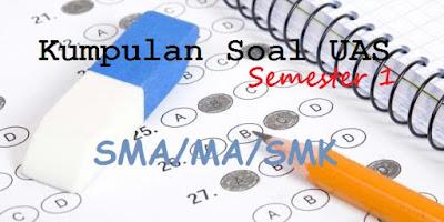 Soal UAS PKN Kelas 10, 11, 12 Semester 1 Kurikulum 2013 Tahun 2018/2019