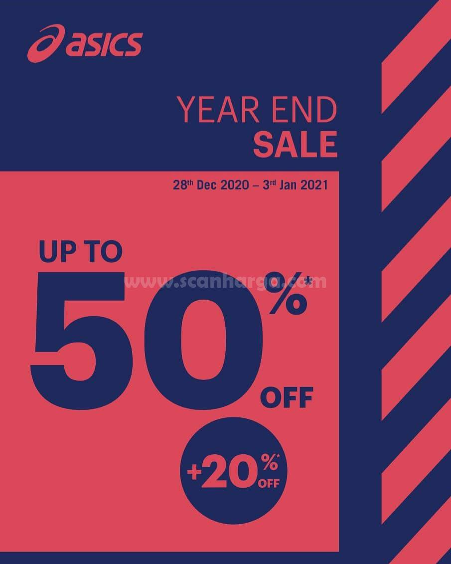 ASICS Promo YEAR END SALE UP TO 50 + 20%