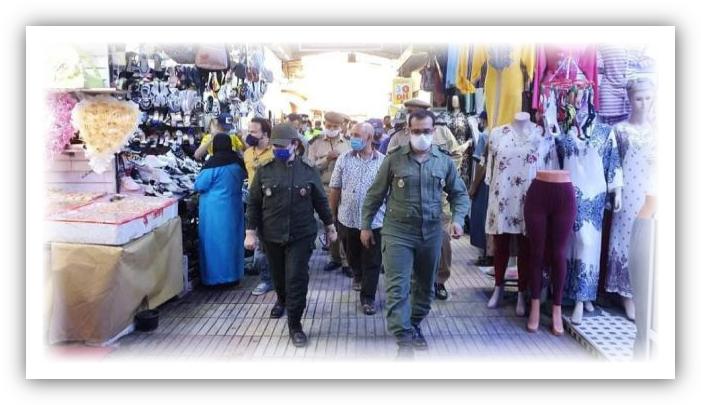 تارودانت : حملة تحسيسية لفائدة تجار وحرفيي جنان الجامع