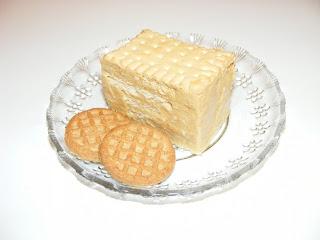Prajitura de post cu biscuiti si crema de fructe retete culinare,