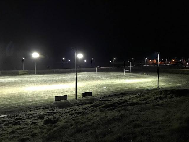 Río Grande Rugby estrenó su nueva iluminación