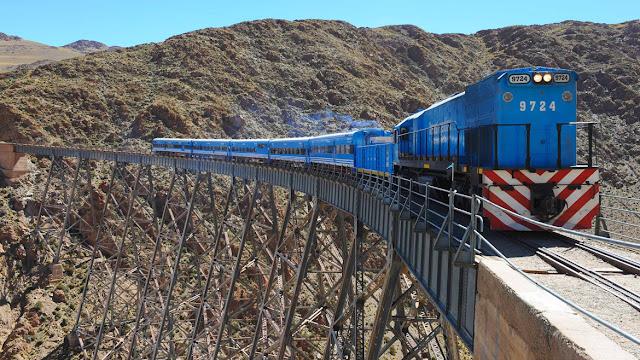 Tren a las nubes - Tucumán, Argentina