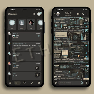 Dark Pattern Theme For YOWhatsApp & Delta WhatsApp By Ethel
