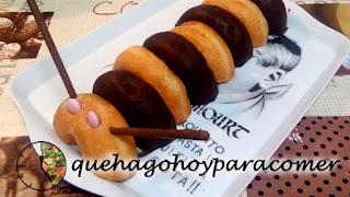 Tarta Gusano De Donuts Y Chuches