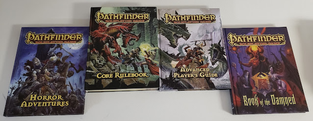 "My ""Core"" Pathfinder books"