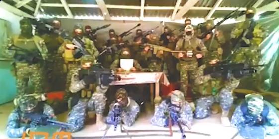 """Video: Manada de Sicarios de El CJNG amenaza a Ejercito y Guardia Nacional por estar """"apoyando"""" a Cárteles Unidos en Michoacán"""
