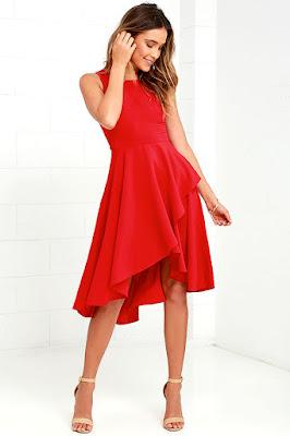 Vestidos Rojos de mujer