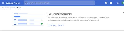 desktop device management