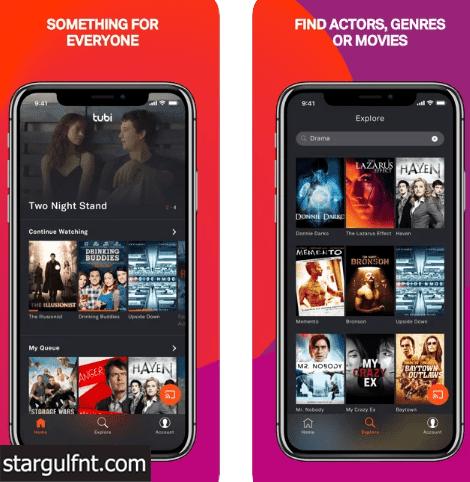تحميل تطبيق TV TUBI - لمشاهدة أفلام وتلفاز مجاني للأيفون والأندرويد APK