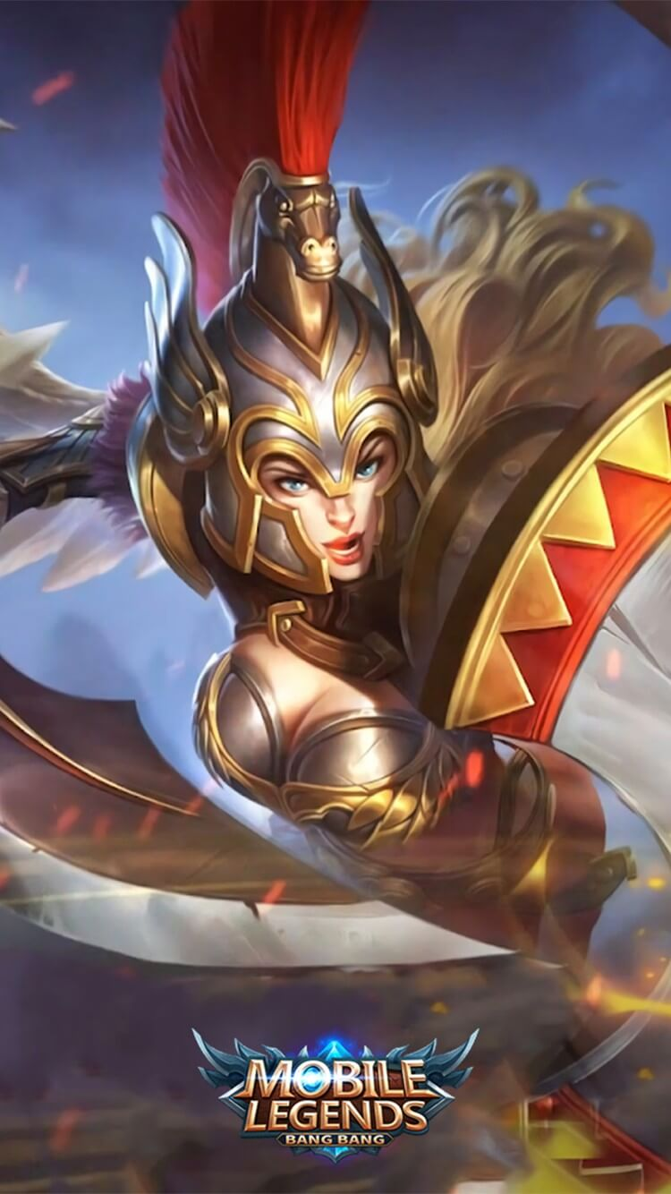 Wallpaper Freya Gladiator Full HD for Android and iOS