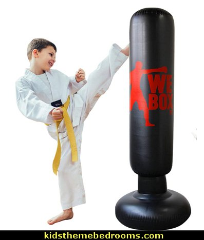 Inflatable Boxing Punching Bag  Fitness Punching Bag