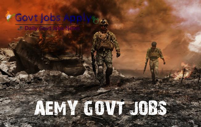 Army Latest Govt Jobs