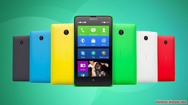 ROM stock cứu máy cho Nokia X (RM-980, RM-981)