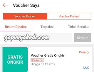 Kenapa Kode Voucher Gratis Ongkir Shopee Tidak Bisa Digunakan Belanja