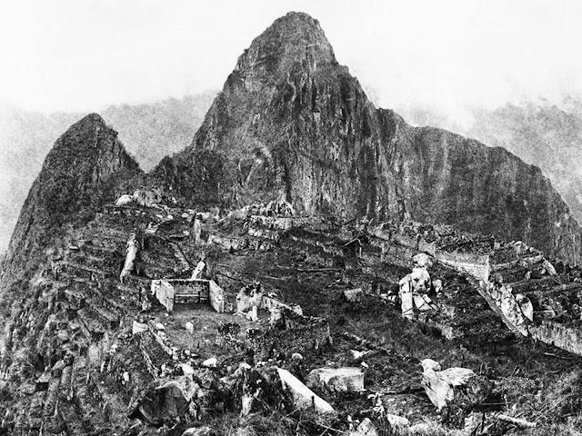 Machu Picchu'nun Keşfiyle İlgili İlk Fotoğraf - 1911