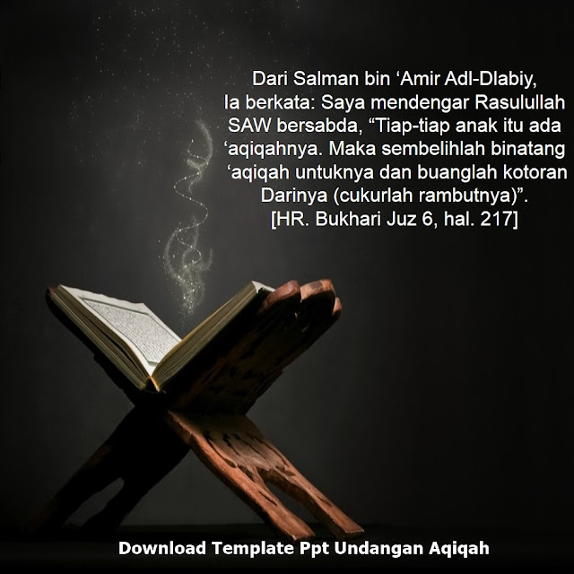 Download Template Ppt Undangan Aqiqah