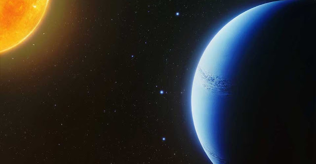 shadow of a clear sky astronomers find an exoplanet atmosphere free of clouds