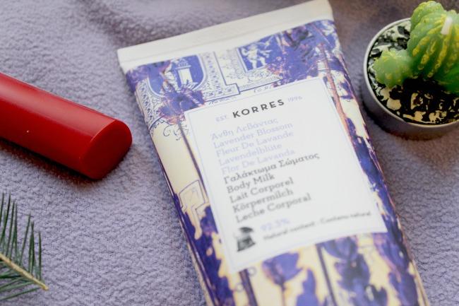 New in: Korres Lavender Blossom range. Nourish ME: www.nourishmeblog.co.uk