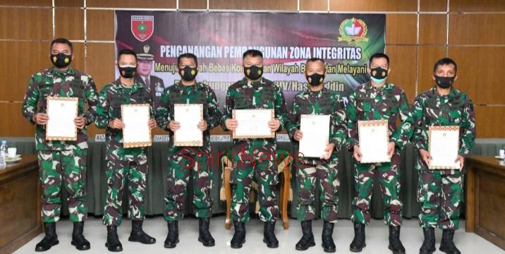 Rindam Hasanuddin, Ciptakan Birokrasi Yang Bersih dan Melayani
