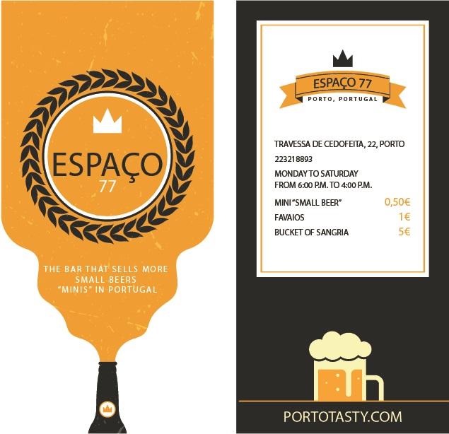 Espaço 77 Bar Restaurant Food Drinks Oporto Porto Portugal
