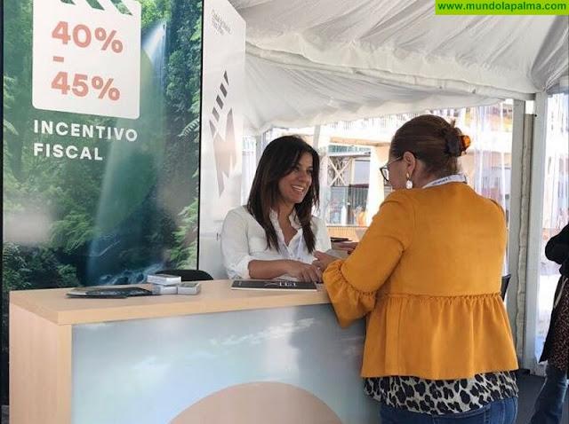La Palma Film Commission promociona la isla en el 21º Festival de Cine de Málaga