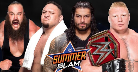 WWE SummerSlam 2017 matches, card, start time, date, rumors, kickoff show