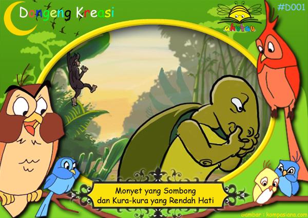http://www.akutau.com/2016/06/monyet-yang-sombong-dan-kura-kura-yang.html