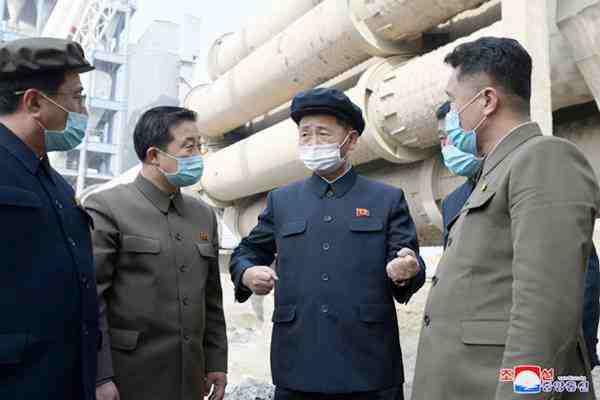 Kim Tok Hun Surveys South Phyongan Province Sectors