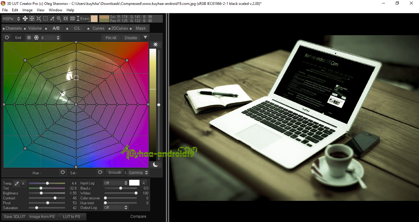 3d lut creator free download