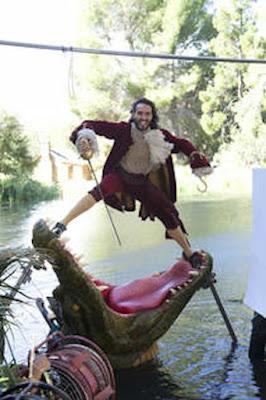 Capitão Gancho de Peter Pan - Annie Leibovitz